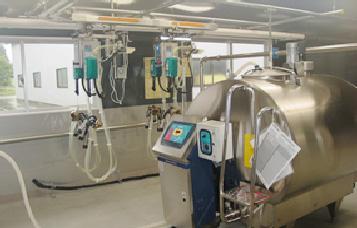 牛乳処理室