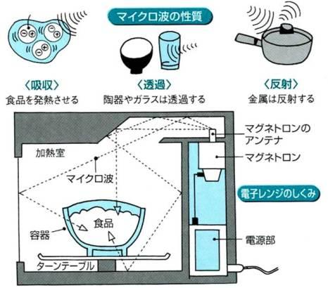 電子レンジの仕組みを簡単解説!なぜ食べ物だけ熱 …