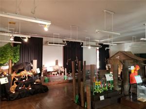 ワイルドライフミュージアム展示室の様子